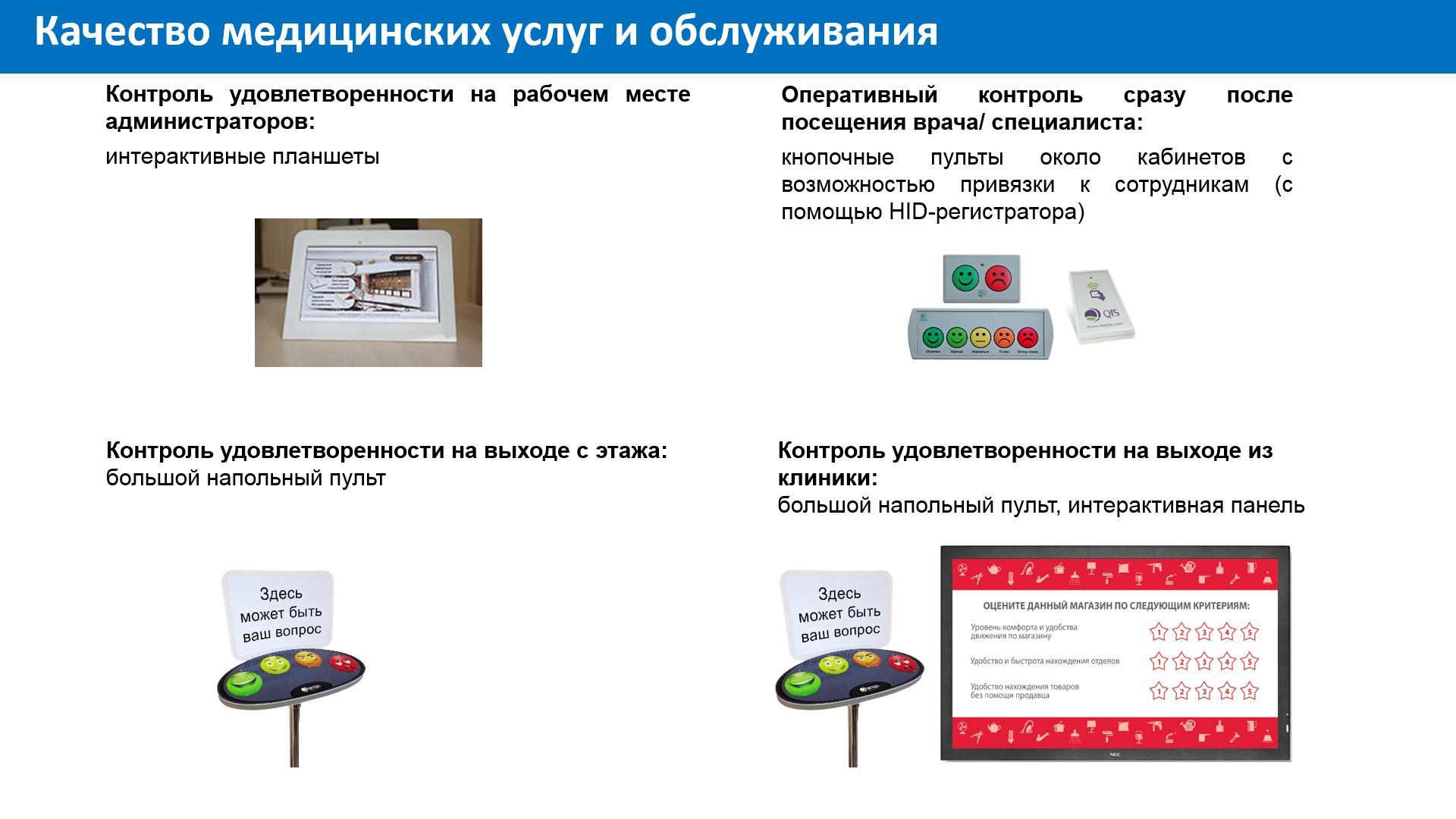 качество медицинских услуг и обслуживания_NETQIS